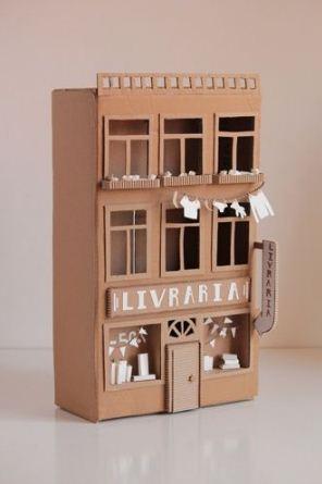 Miniatur Kota Dari Kardus : miniatur, kardus, Membuat, Diorama, Gedung, Kardus, Ragam, Kerajinan, Tangan