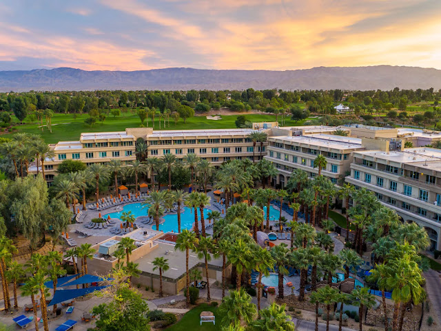 Escape to Hyatt Regency Indian Wells Resort & Spa, a resort in Indian Wells with a championship golf course, luxury spa, upscale villas, and a prime location in greater Palm Springs.