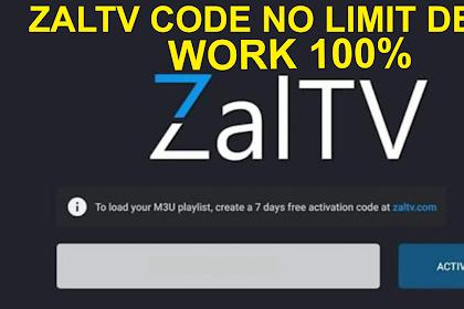 Kode ZalTV Anti Limit / ZalTV Code no device limit