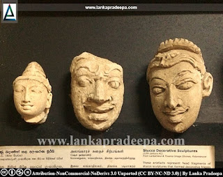 Stucco decorative sculptures from Lankatilaka & Tivanka image houses