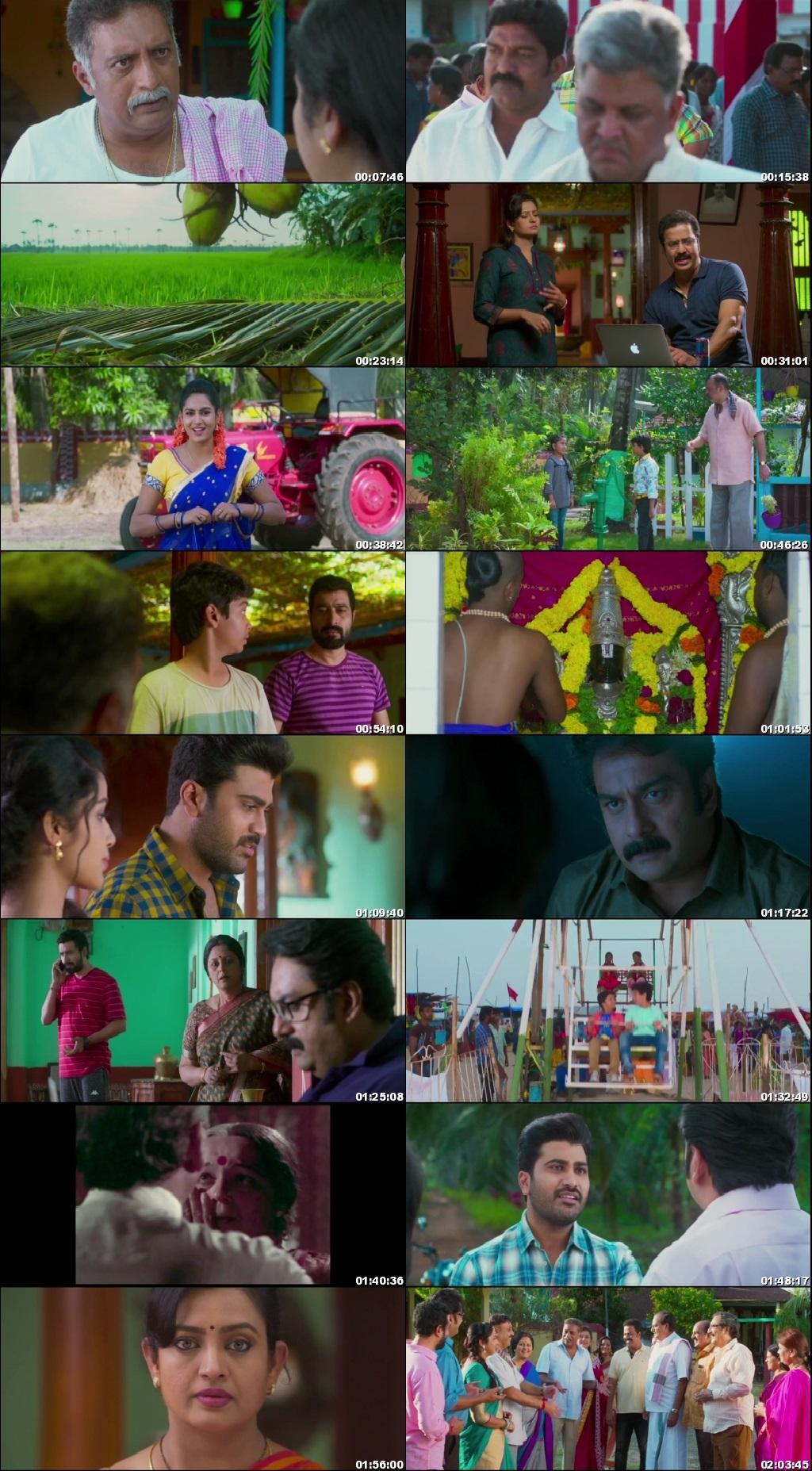 Screen Shot Of Tollywood Movie Shatamanam Bhavati 2017 Full Movie In Hindi Dubbed Free download 720P HD