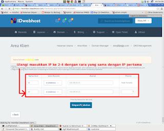 IP adress blogger idwebhost