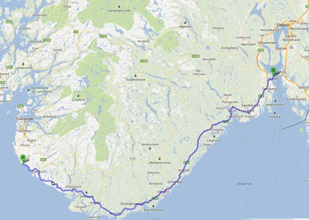 Saarnastuoli Norja