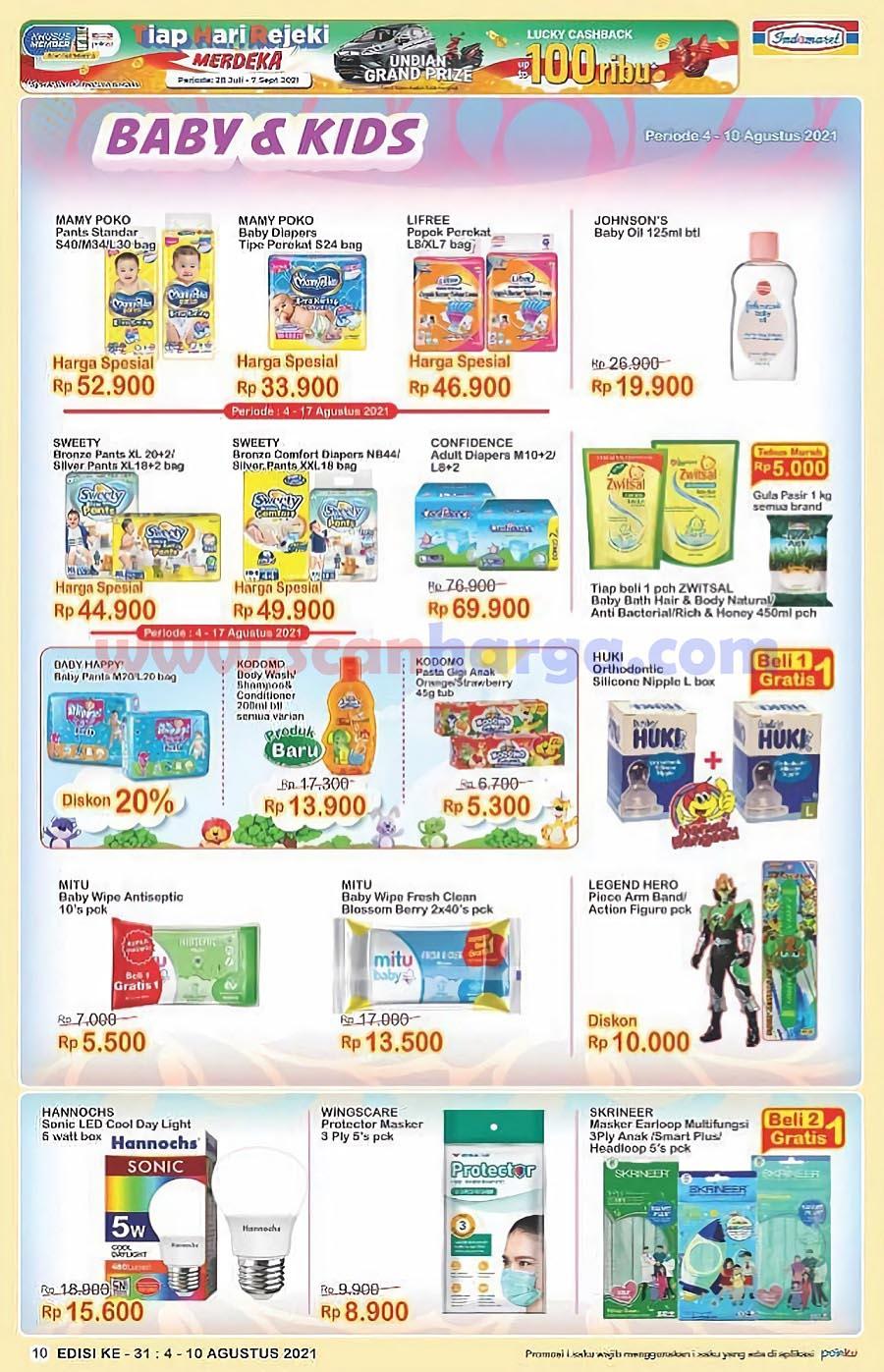 Katalog Indomaret Promo Terbaru 4 - 10 Agustus 2021 10