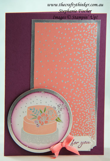 #thecraftythinker  #stampinup  #cardmaking , Stampin' Dreams, Sweet Soiree, Stampin' Up Australia Demonstrator, Stephanie Fischer, Sydney NSW