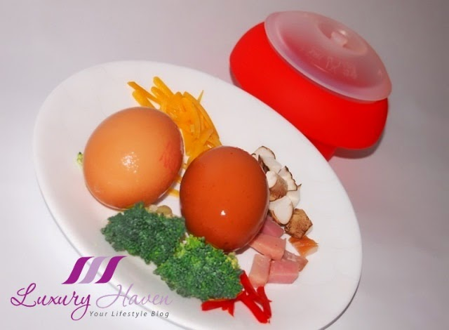 how to use lekue ovo egg cooker, recipe