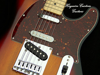 Haywire Custom Guitars Nashville SRV With 7 Sound Switching control for 7 Pickup Combinations
