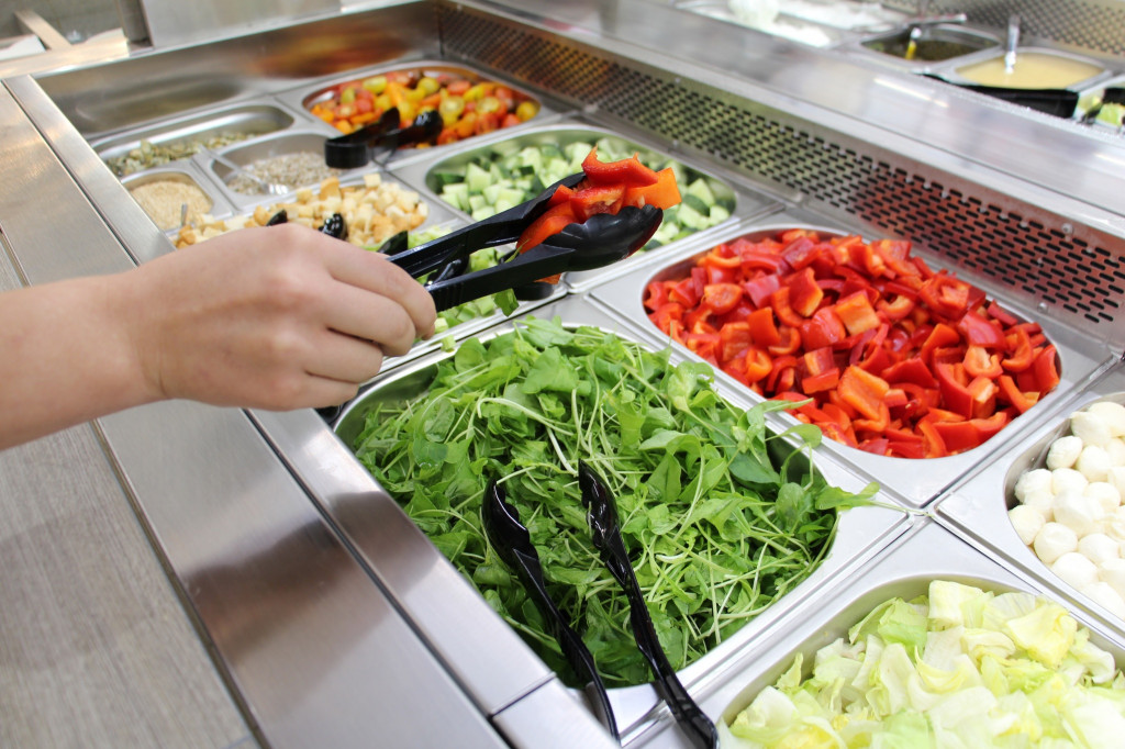 Salad Constructor business for women