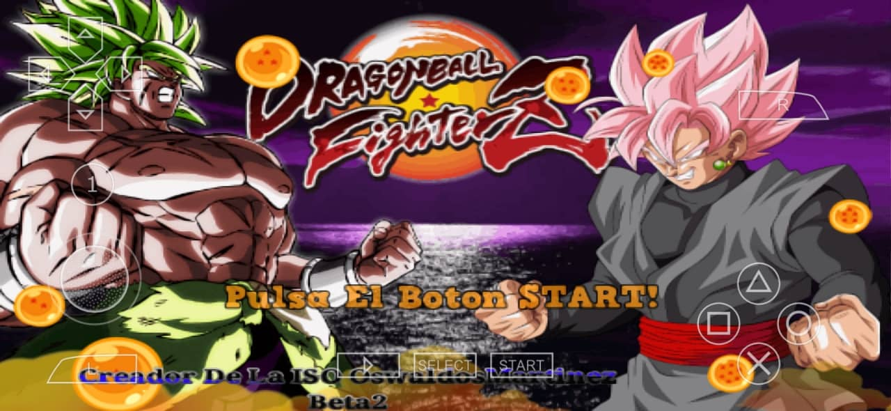 Dragon Ball Fighter Z PPSSPP ISO Download