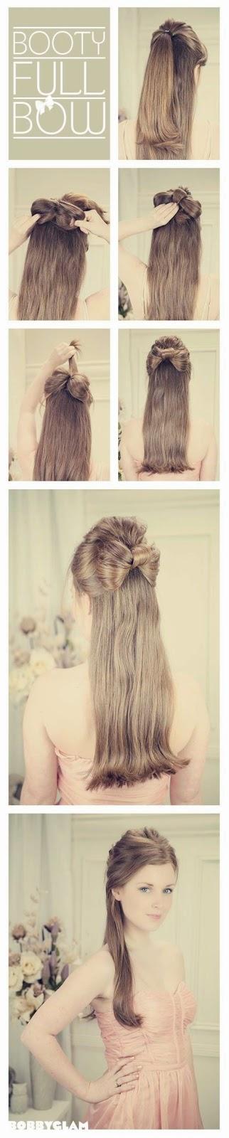 cara menguncir rambut