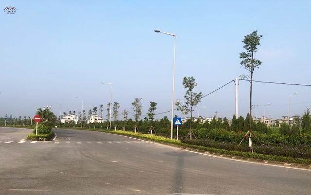 Cơ sở hạ tầng xung quanh đất dịch vụ An Khánh