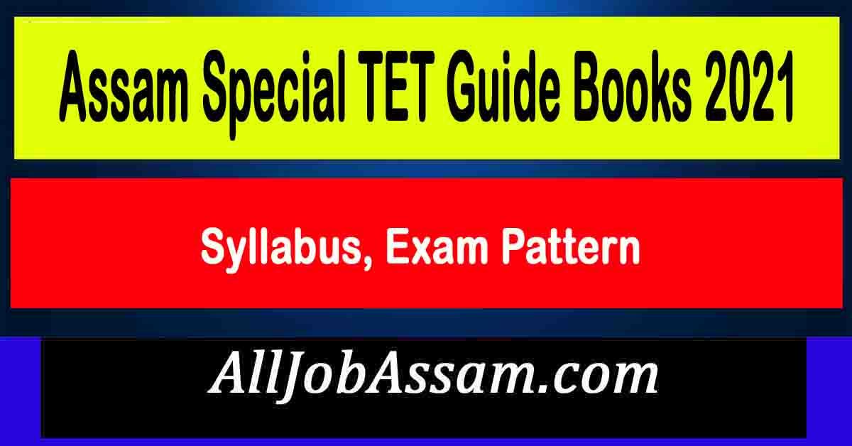 Assam Special TET Guide Books 2021