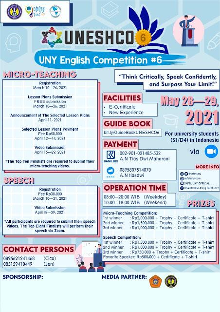 UNY Festival (UNYFest) #9 Banyak Lomba Berhadiah Besar