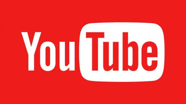 Foto escrito o nome do YouTube