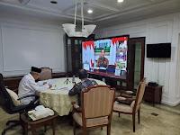 Wakil Presiden Ma'ruf Amin : Mari Bersama Batasi pergerakan orang dari satu tempat ke tempat yang lain