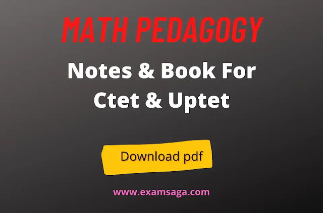 math-pedagogy-notes-ctet