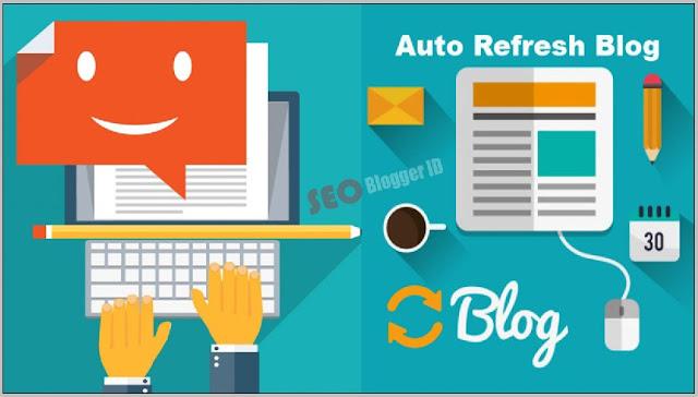 Halaman Blog Refresh Otomatis