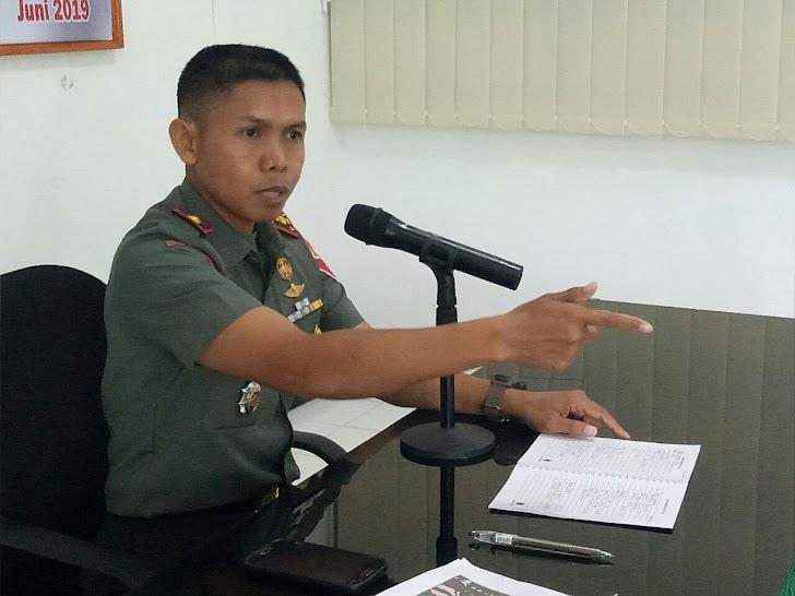 Dandim 1424/Sinjai Pimpin Rapat Untuk Kesiapan Personel di Pembukaan TMMD 105 di Bulupoddo