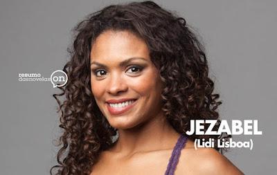 Lidi Lisboa protagonista de Jezabel