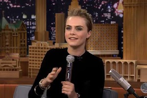 Cara Delevingne performed the Beatbox in online tv show