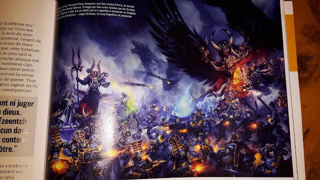 Magnus, Ahriman y los Mil Hijos