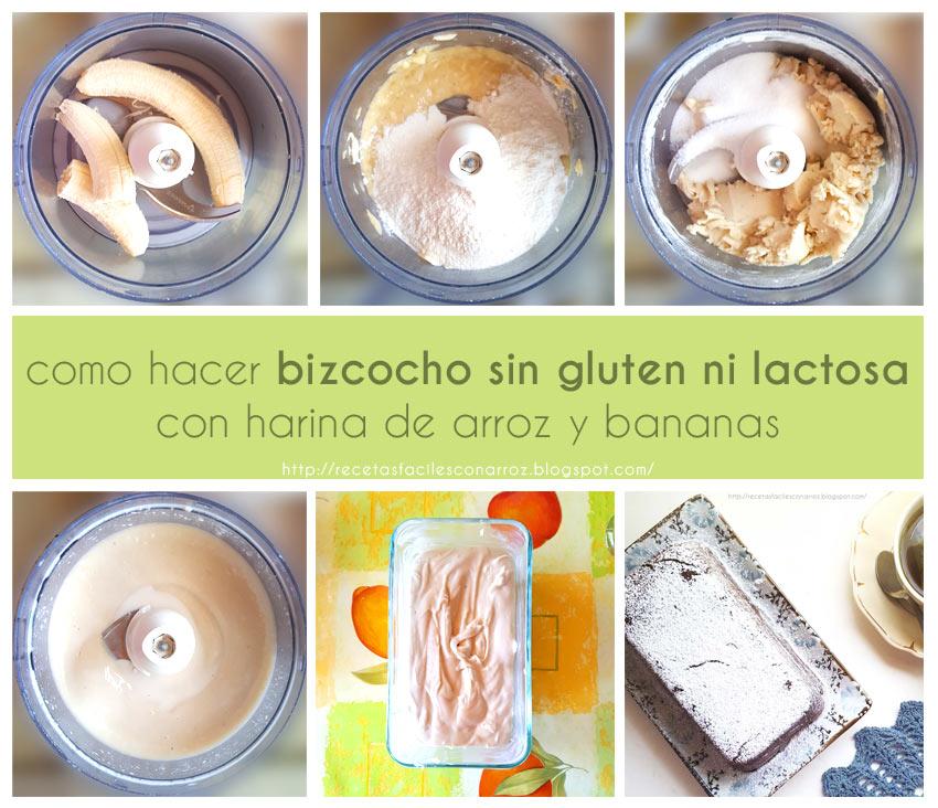 bizcocho sin gluten fototutorial