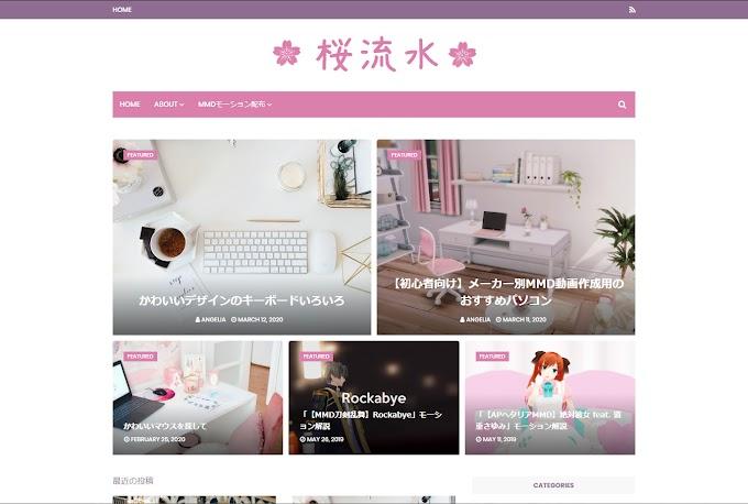 海外のBlogger無料テンプレート導入