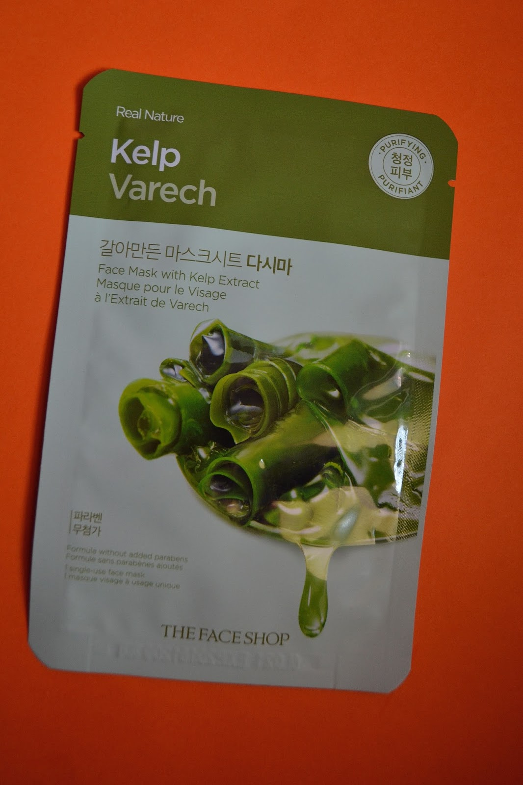 Compact Matters The Face Shop Real Nature Masks Reviews Mask Sheet Kelp Helps Purify Your Skin