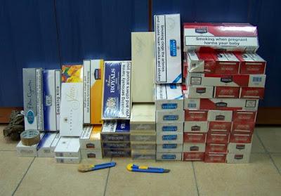 Ηγουμενίτσα: Σύλληψη 64χρονου με 464 πακέτα λαθραίων τσιγάρων