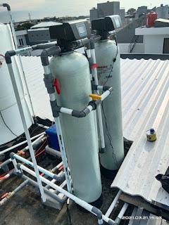 pemasangan filter air otomatis di Pluit Jakarta Utara