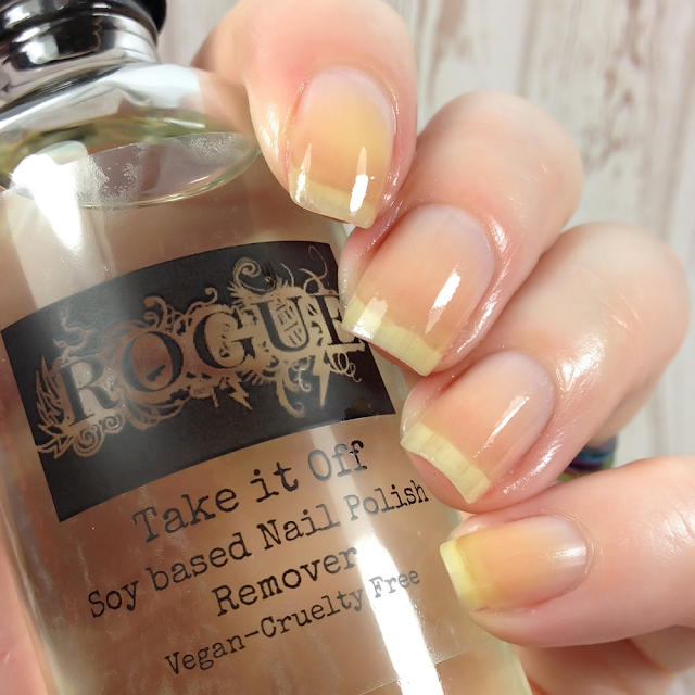 "Rogue Lacquer-""Take It Off"" Soy Nail Polish Remover"
