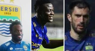 Essien dan Ezechiel Siap Bertahan di Persib Bandung, Vujovic Sinyal Hengkang