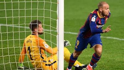 Copa del Rey: Kalahkan Sevilla 3-0 Barcelona Melenggang Ke Final