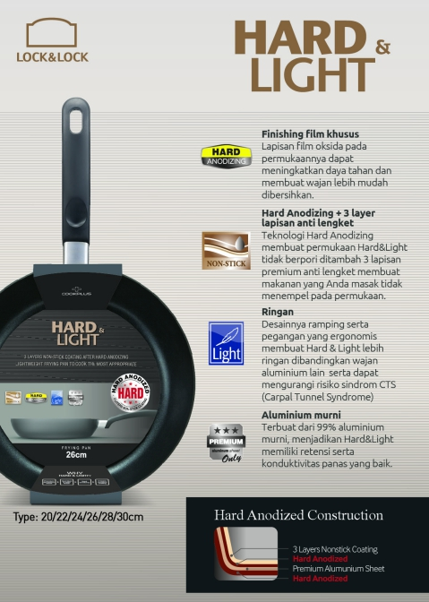 keunggulan hard&light
