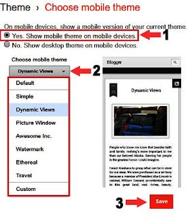 blog theme ko mobile responsive kaise banaye