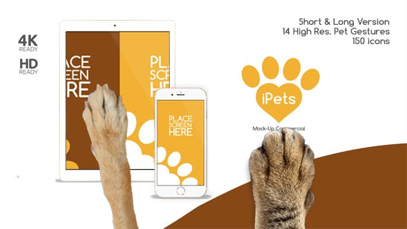 Pets Flat MockUp Device Kit[Videohive][After Effects][14345010]