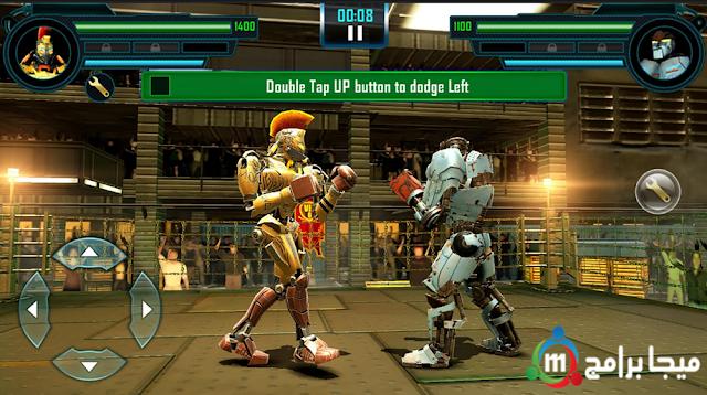 تحميل لعبة real steel world robot boxing للاندرويد