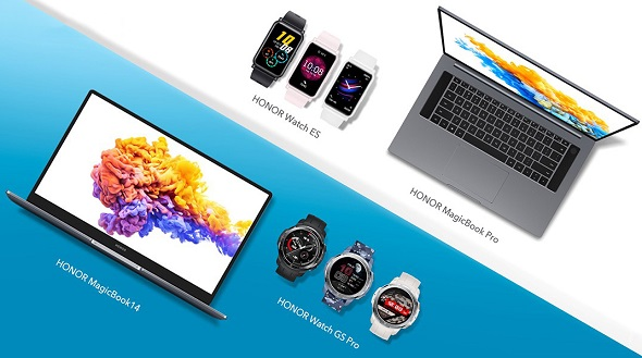 HONOR Watch GS Pro, HONOR Watch ES, HONOR MagicBook Pro