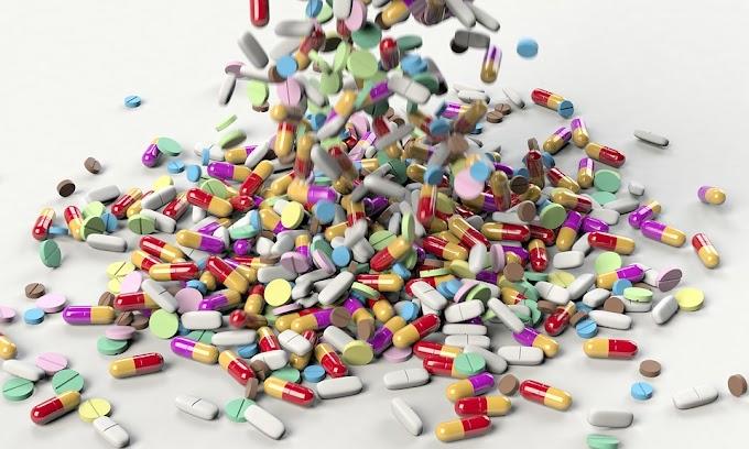 Categorías de medicamentos y sus efectos secundarios.