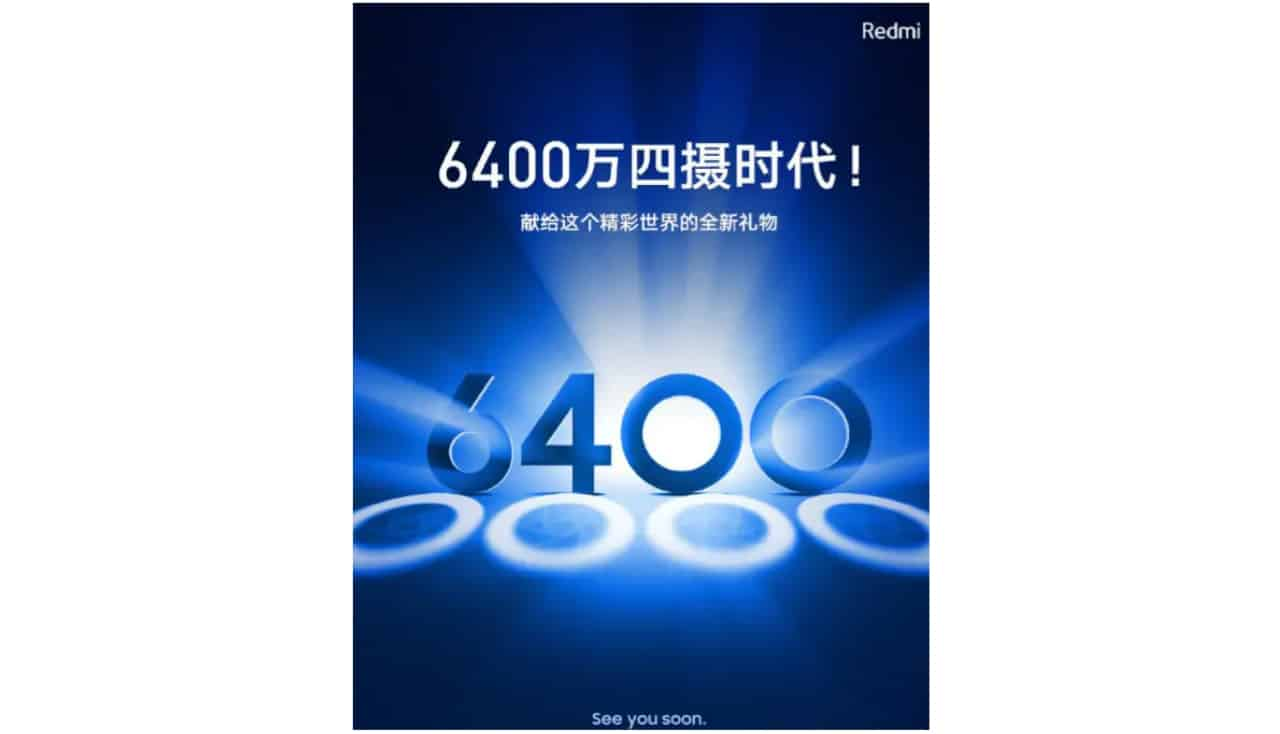 Redmi smartphone with 64 megapixel sensor will have four rear cameras
