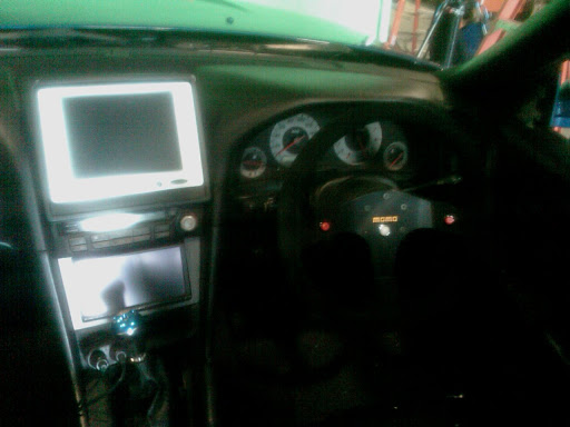 Dash installed in R34 buck for Fast and Furious