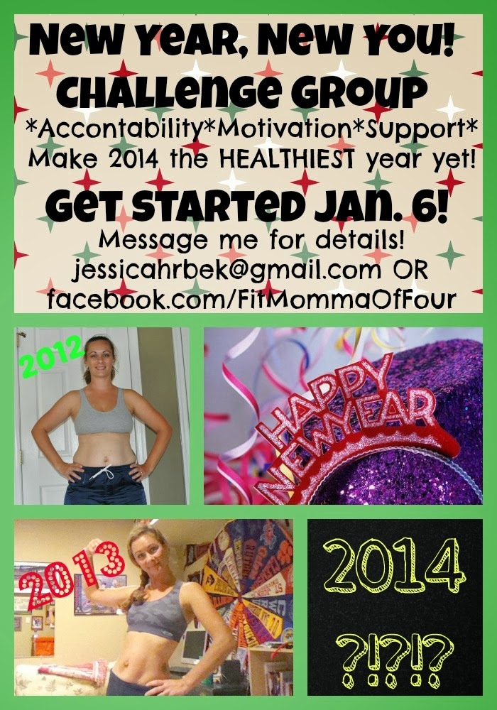 Fit Momma of Four: New Year, New You Fitness & Clean ...