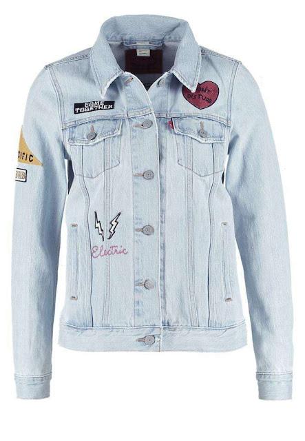 giubbino jeans levi's giacca jeans tendenza autunno 2016 tendenze moda