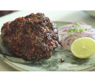 how to make chapli kebab step by step with picture