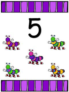 Números para imprimir del 1 al 20
