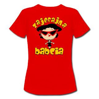 Koszulka Zajefajna babcia