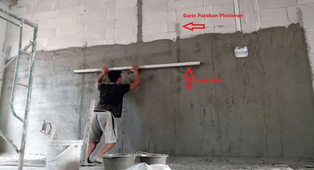 Cara Membuat Plester Dinding Tembok