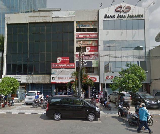 toko cat wira makmur jalan gajah mada 27D jakarta barat