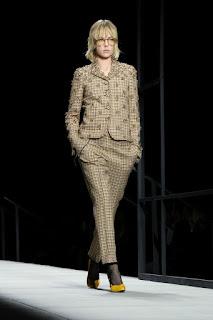 Edie Campbell At Bottega Veneta Catwalk At New York Fashion Week 2018