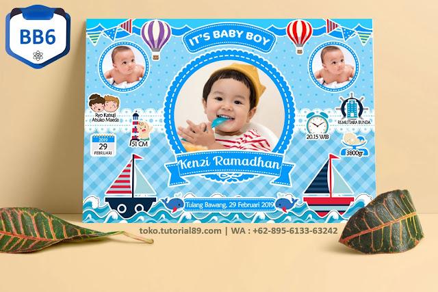 Biodata Bayi Costume Baby Boy Kode BB6